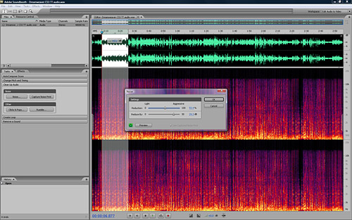 STEP 2 Clean up the Audio in Soundbooth