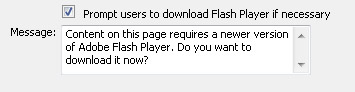 STEP 10 Prompt Users to Download Player
