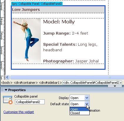 STEP 9 Change Menu Display Options