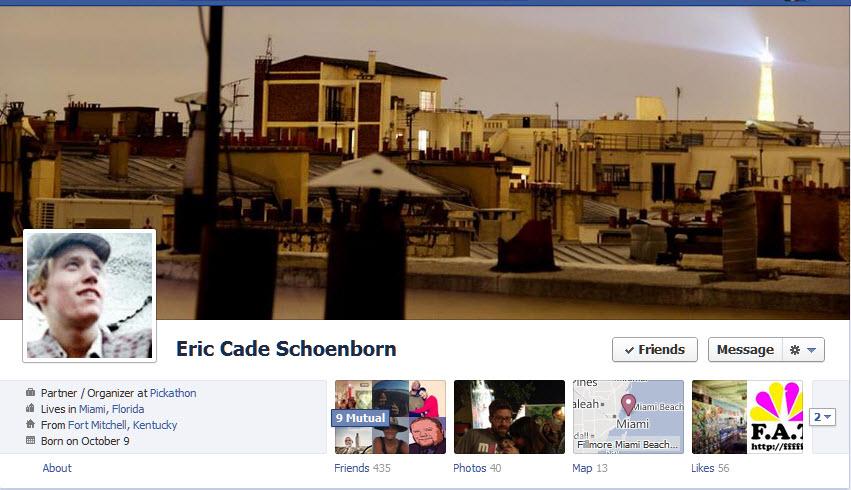 Eric Cade Schoenborn