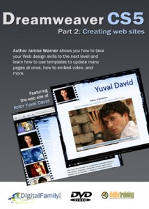 Dreamweaver CS5 Part 2