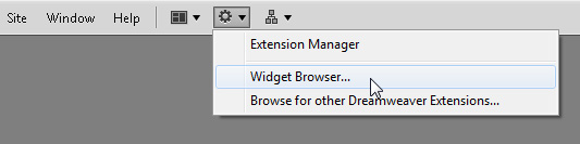Widget Browser