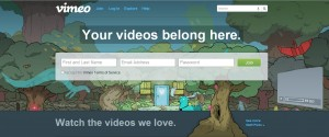 Vimeo video hosting service