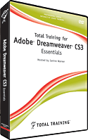 Dreamweaver CS3 Training Video