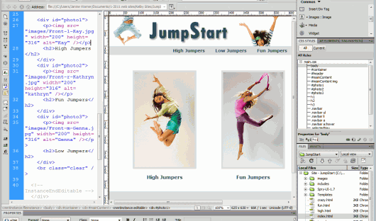 Jump Start Your Web Design Skills