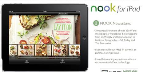 Barns and Noble Nook