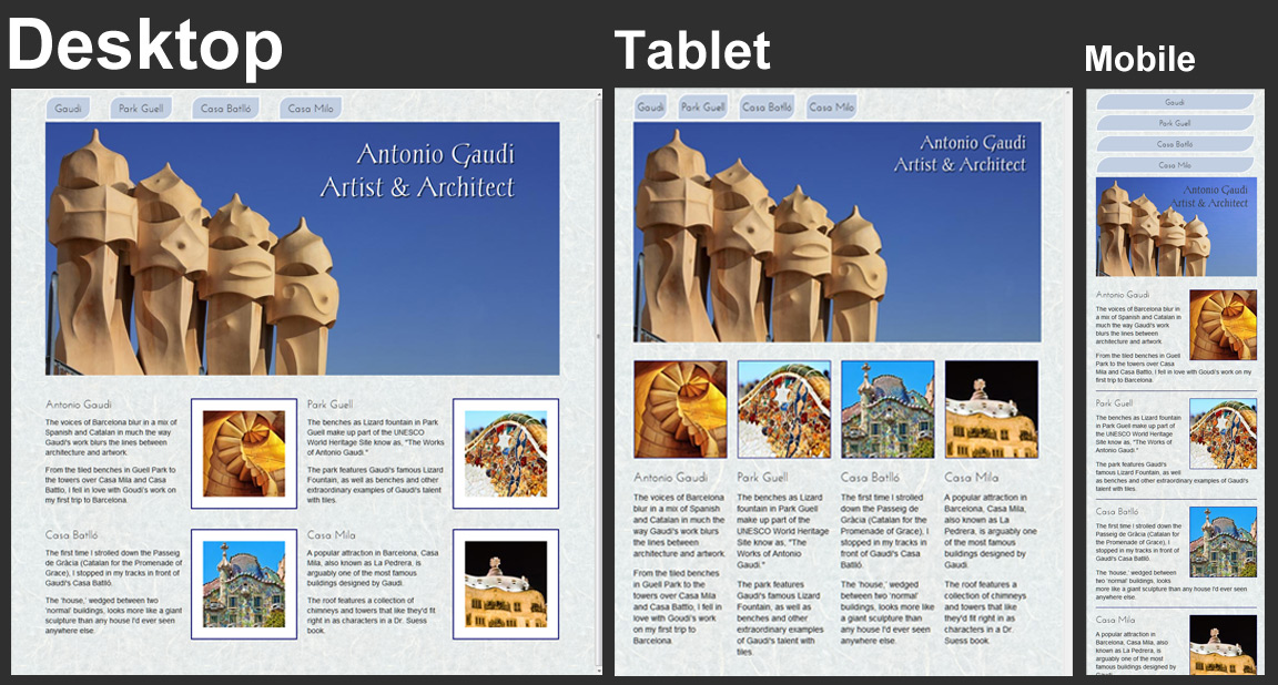 Creating Responsive Designs with CSS Media Queries -