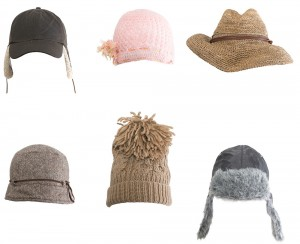 Photo of many hats