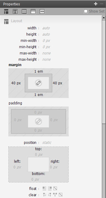 Padding and Margin in the CSS Properties