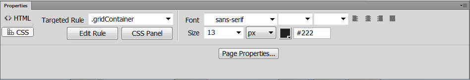 how to create new style sheet in dreamweaver