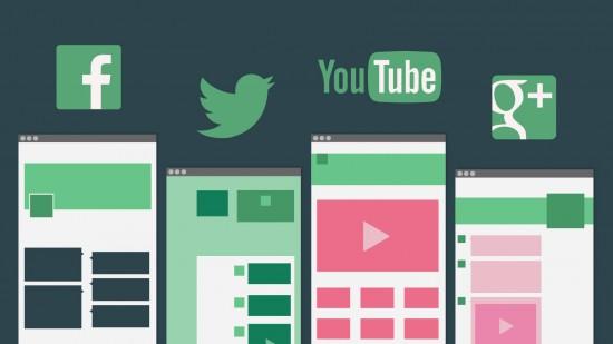 social media design templates - Vertom