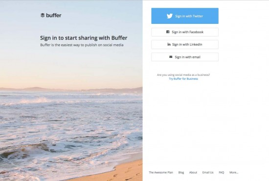 buffer social media dashboard