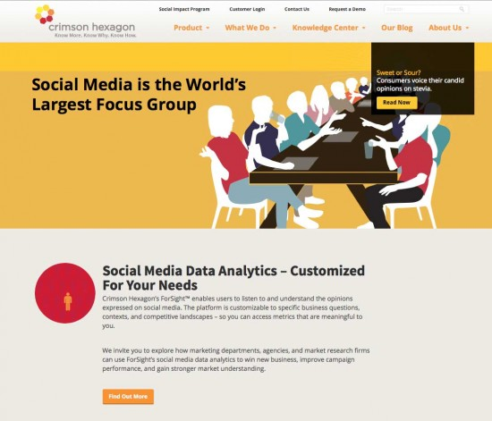 crimson hexagon social media analytics