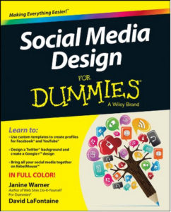 social media design for dummies by janine warner